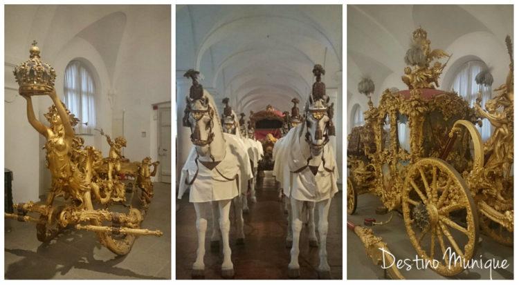 Carruagens-Nymphenburg-Palacio
