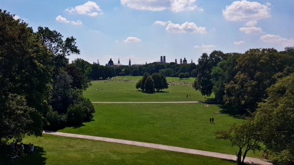 Englischer Garten, Munique, Alemanha, Guia brasileira em Munique