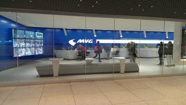 Munique-MVG-Kundencenter-Hauptbahnhof-Transporte