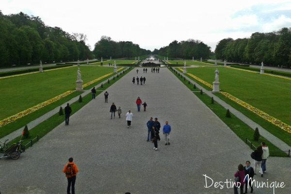 Nymphenburg-Jardim-Palacio