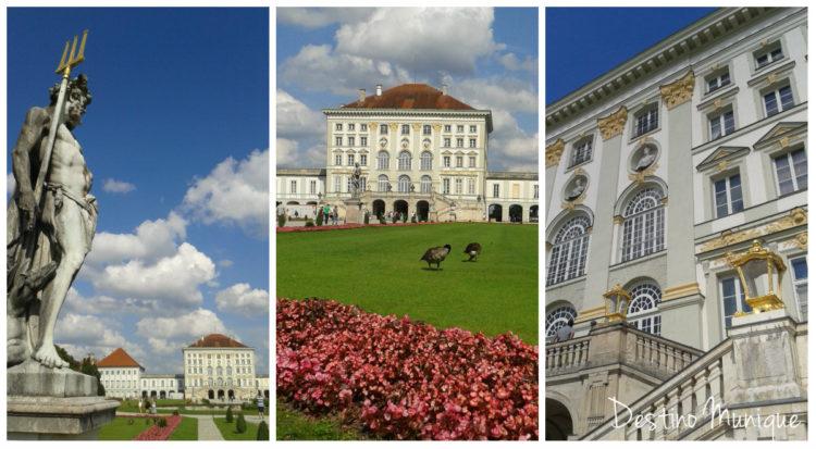 Nymphenburg-Palacio-Jardim