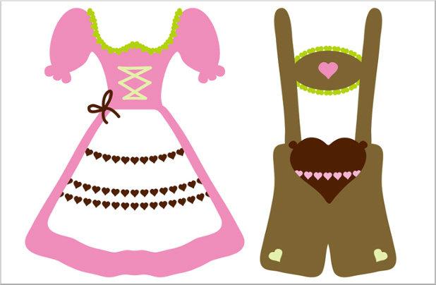 4ec92f597f6de Lederhosen e Dirndl  as roupas tradicionais do sul da Alemanha