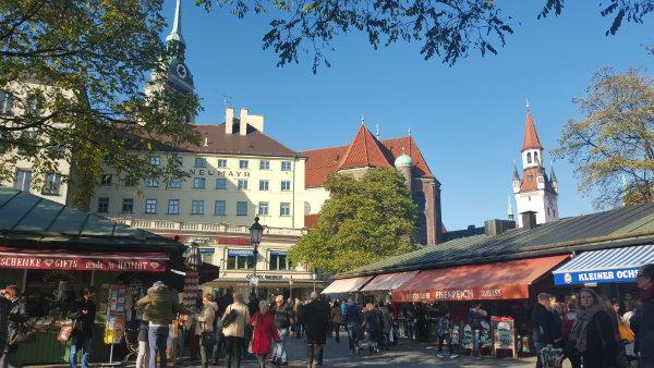 Dicas de Munique, Marienplatz, Alemanha, Viktualienmarkt