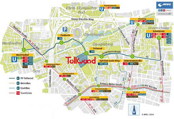 Tollwood-Mapa