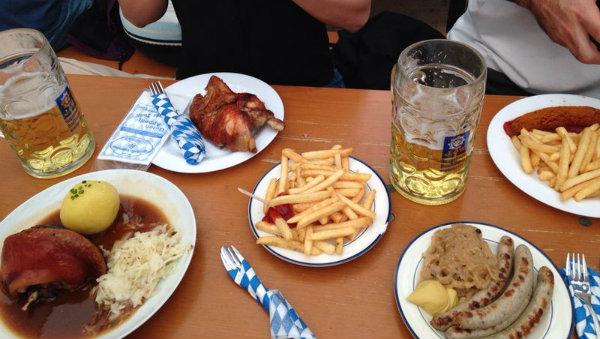 Pratos Típicos Alemaes