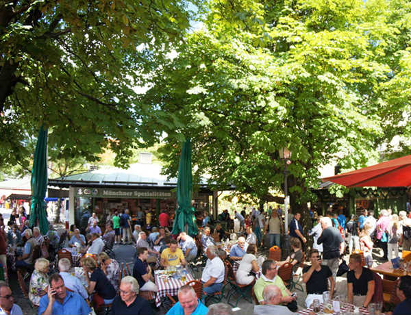 Biergarten-VM-Munique