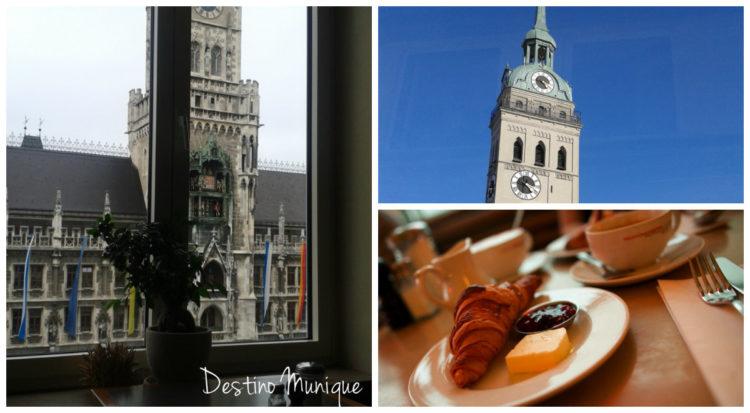 Glockenspiel-Cafes-Munique