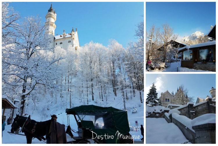 Neuschwanstein-Castelo-Inverno