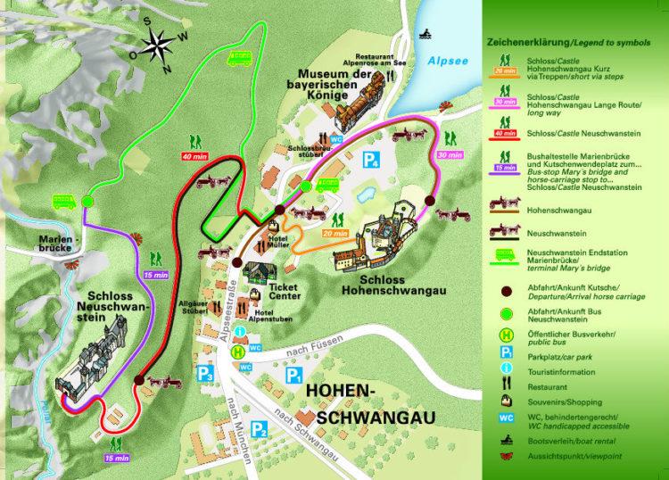 Neuschwanstein-Mapa-Dicas