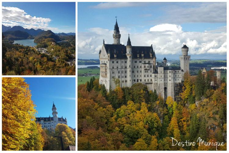 Nueschwanstein-Outono-Guia-em-Munique