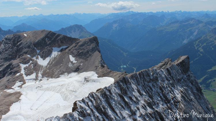 Zugsptize-Glacial-Verao
