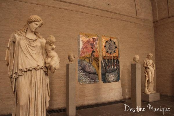 Gliptoteca-Munique-Estatuas