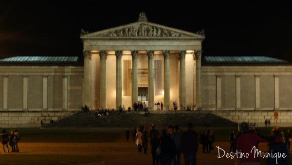 A noite longa dos Museus em Munique, Gliptoteca, Glyptothek, Munique, Alemanha