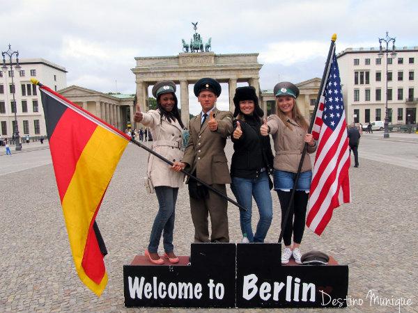 Berlim-Brandenburgtor-Destino-Munique