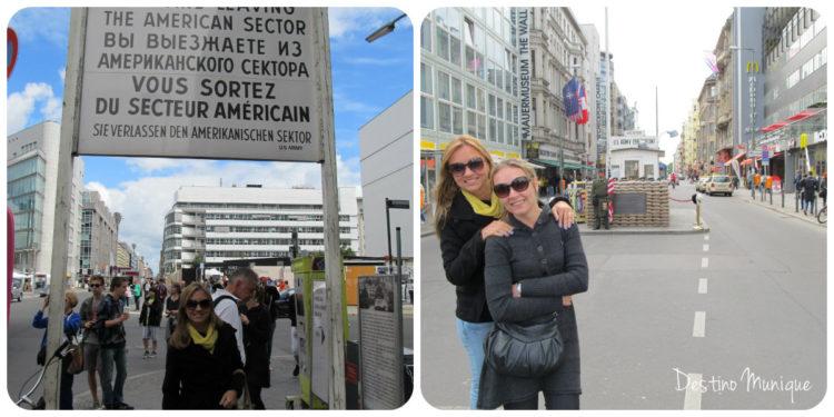 Berlim-Checkpointcharlie-Destino-Munique