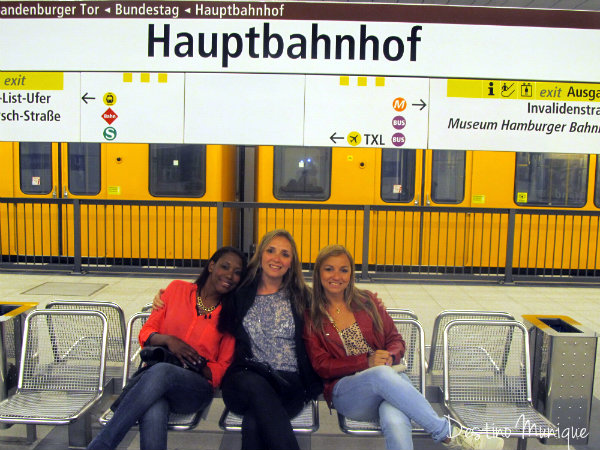 Berlim-Hauptbahnhof-Destino-Munique
