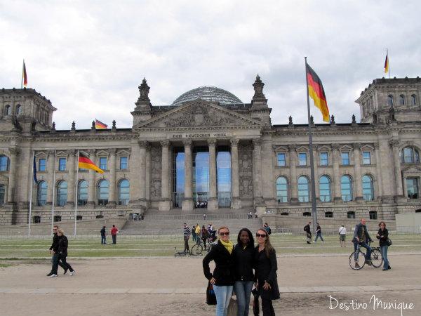 Berlim-Reichtag-Destino-Munique