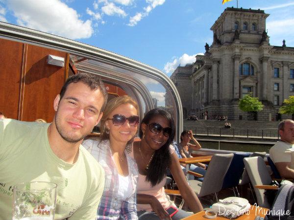 Berlim-Spree-Destino-Munique
