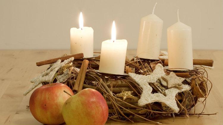 Natal-Alemanha-Adventskranz
