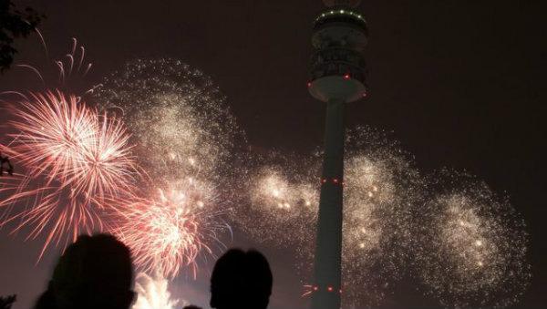 Reveillon em Munique, Alemanha, Silvester, Ano Novo