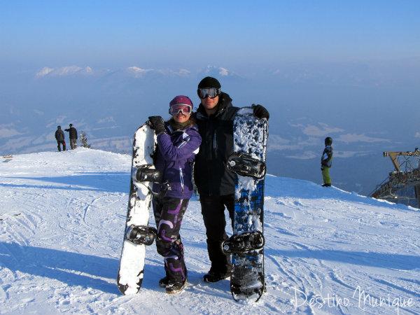 Brauneck-Lenggries-Snowboard