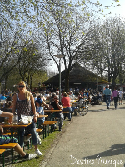 Westpark-Biergarten-Munique