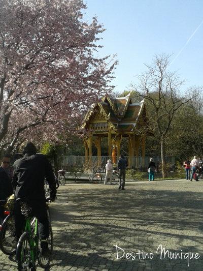Westpark-Munique-Alemanha-Primavera
