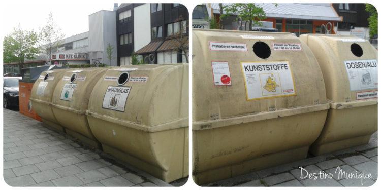 Munique-Lixo-Rua