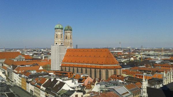 Munique, Alemanha, Frauenkirche