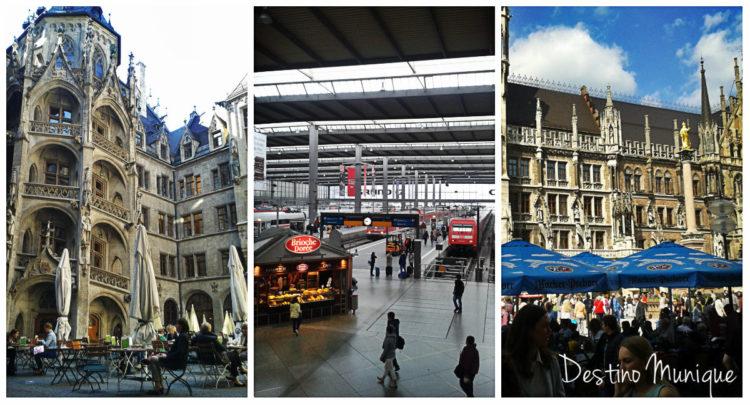 Munique-Alemanha-Marienplatz