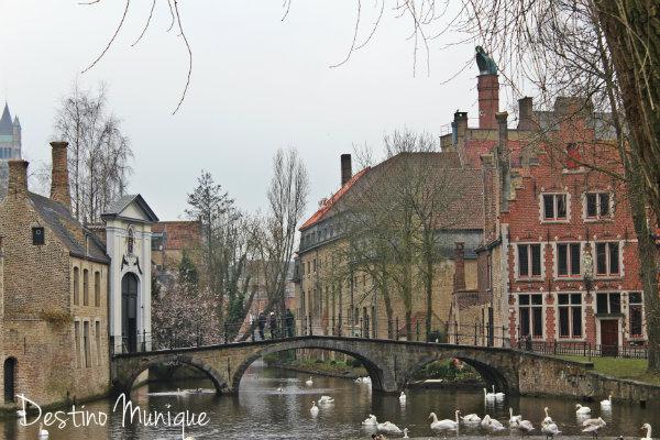 Bruges-Canais-Belgica