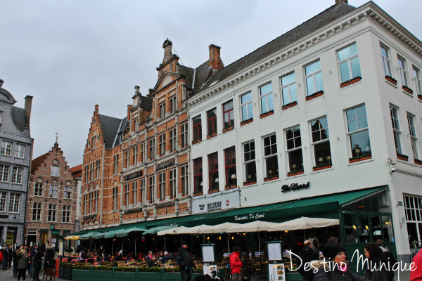 Marktsquare-Bruges-Belgica