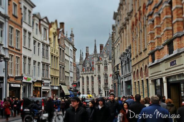 Ruas-Belgica-Bruges