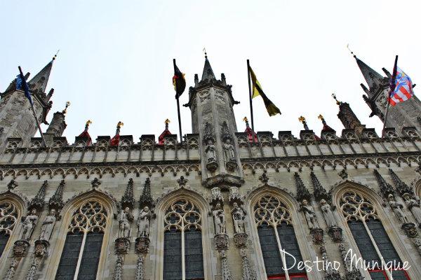 Bruges-Belgica-Stadhuis
