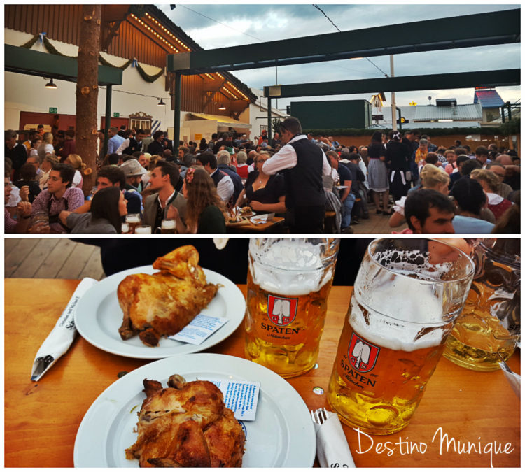 Biergarten-Oktoberfest-Munique