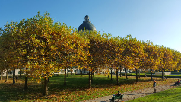 Outono em Munique, Alemanha