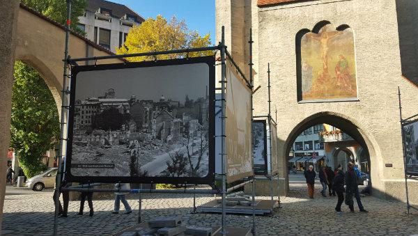 Exposição de fotos de Munique, Alemanha, pós segunda guerra Mundial, Isator