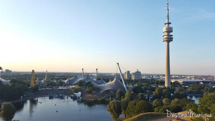 Munique-Olympiaberg-Olympiaturm
