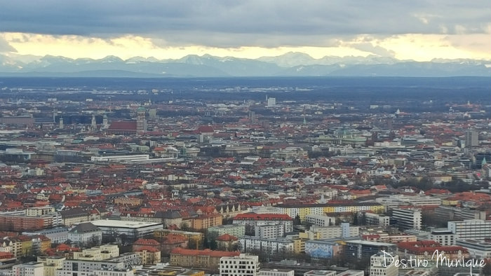 Munique-alto-Olympiaturm
