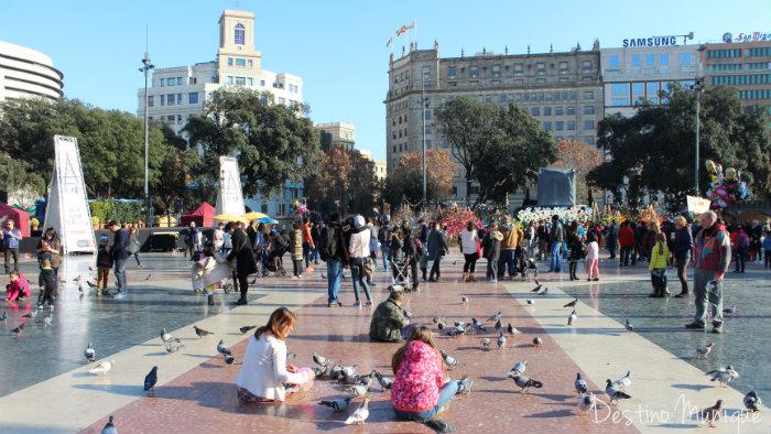 Barcelona-Plaza-Catalunia