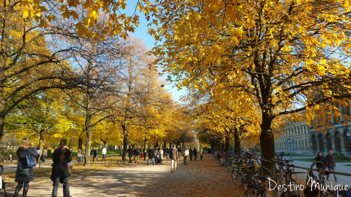 Hofgarten-Munique-Dicas