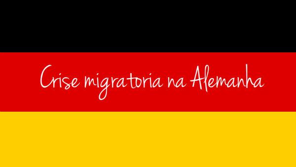 crise migratória na alemanha
