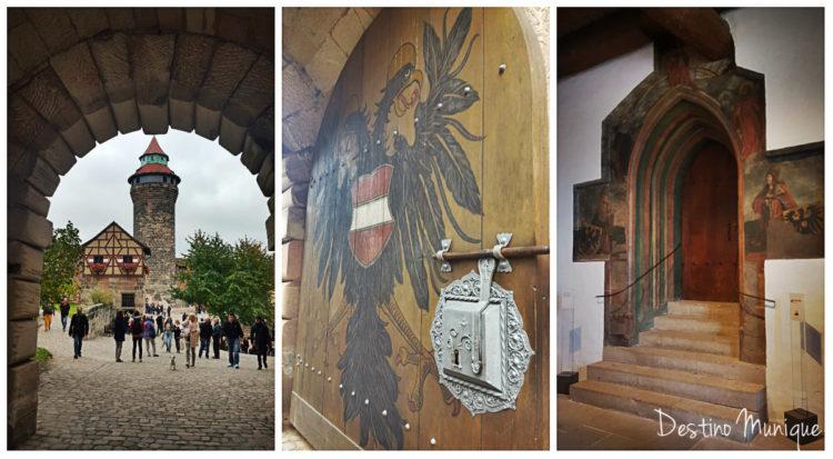 Kaiserburg-Alemanha-Nuremberg