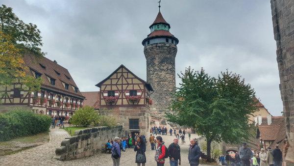 Kaiserburg, Castelo de Nuremberg, Alemanha, Baviera, Dicas