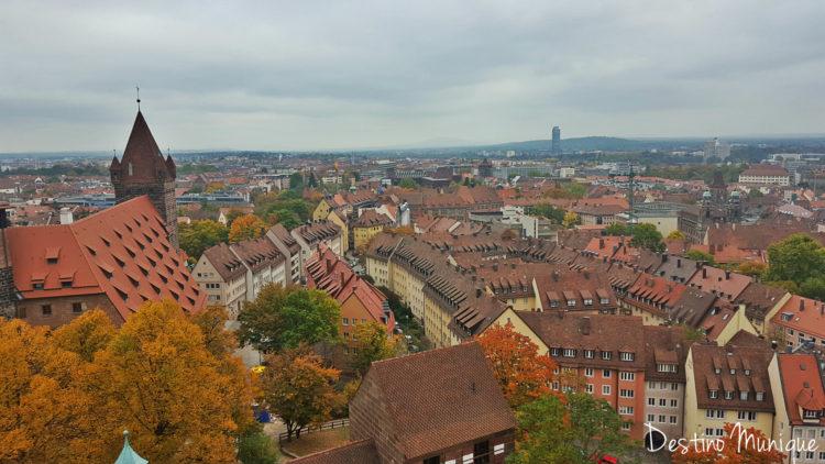 Kaiserburg-Nuremberg-Vista