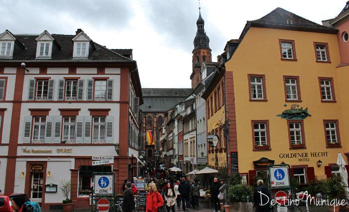 Heidelberg-Centro-Alemanha