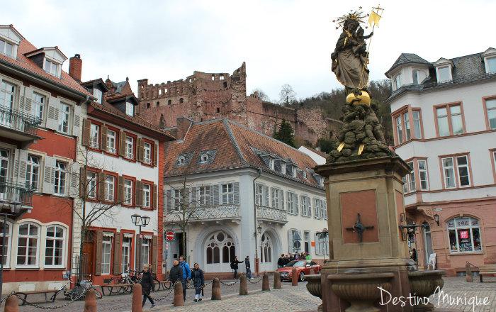 Heidelberg-Kornmarkt-Alemanha