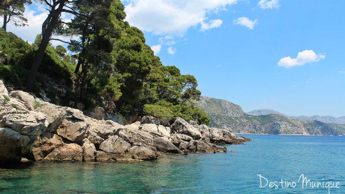 Dubrovnik-Lokrum-Barco