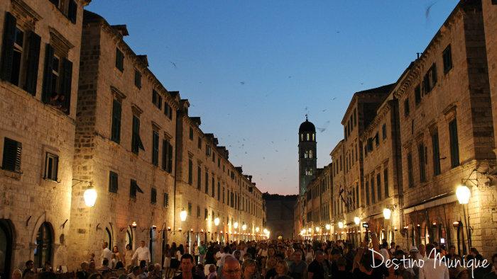 Dubrovnik-Noite-Centro