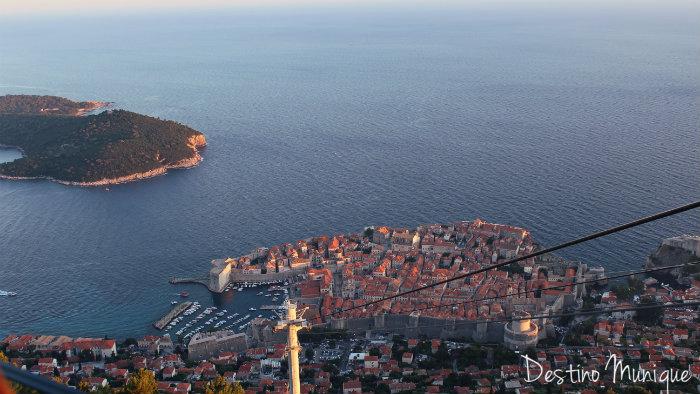 Dubrovnik-Teleferico-Vista